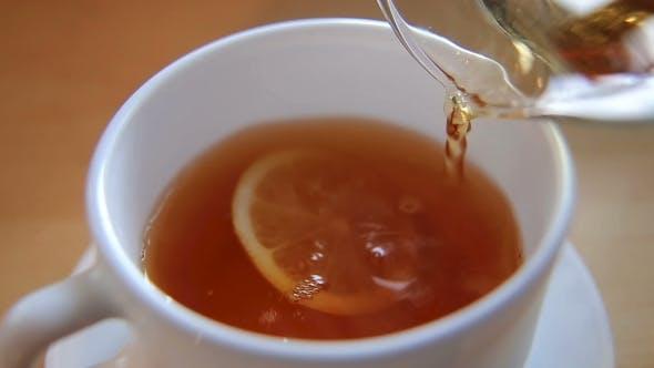 Thumbnail for Eine Tasse Heißer schwarzer Tee