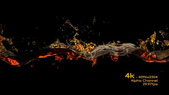 Thumbnail for Beer Wave Splash 4K