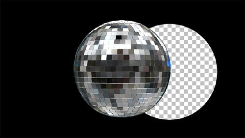 Disco Ball Loop Rotation #4
