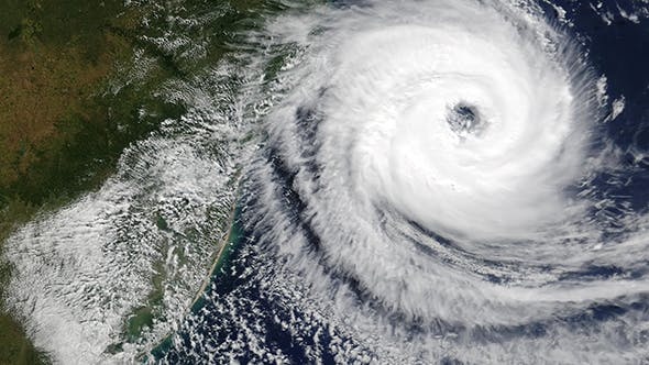 Thumbnail for Hurricane From Space on Earth