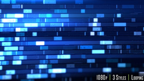Biotechnology Data Technology Blue Background