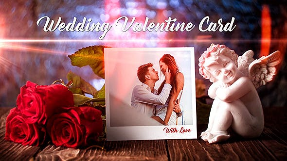 Thumbnail for Wedding Valentine Card