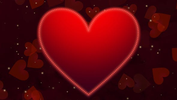 Thumbnail for Red Hearts Background