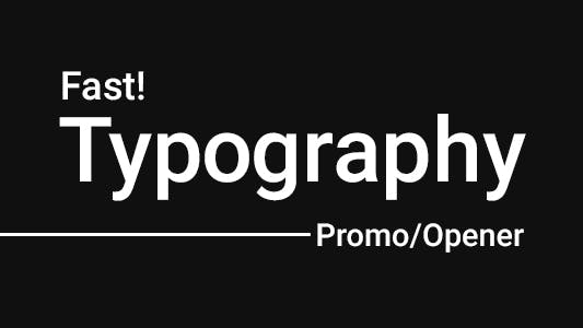 Thumbnail for ZenX - Fast Typography Promo