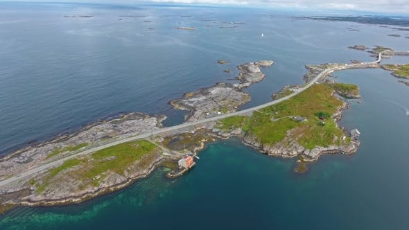 Thumbnail for Atlantic Ocean Road in Norway