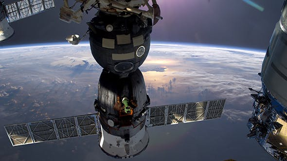 Thumbnail for Earth Through Window Of International Space Station