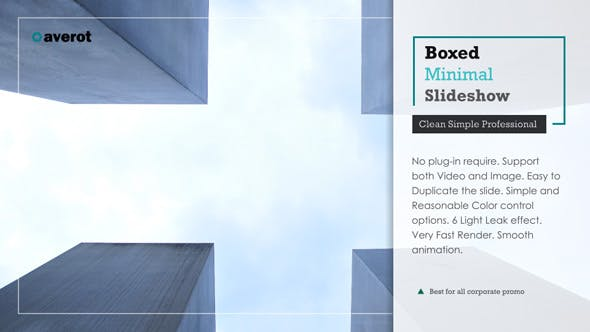 Thumbnail for Boxed Minimal Slideshow