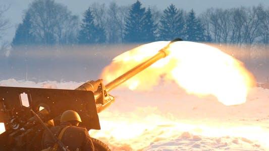 Thumbnail for War. Artillery.