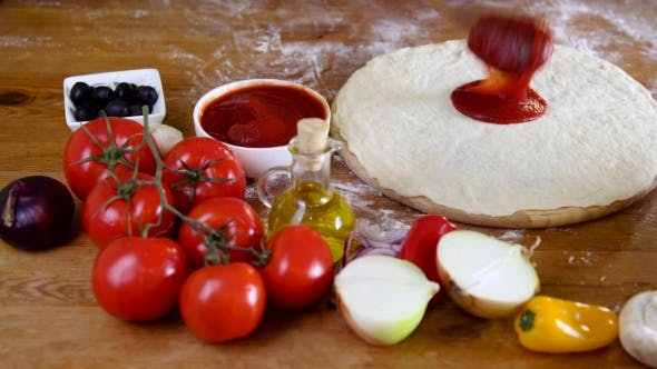 Cover Image for Prepearing Dough for Homemade Pizza