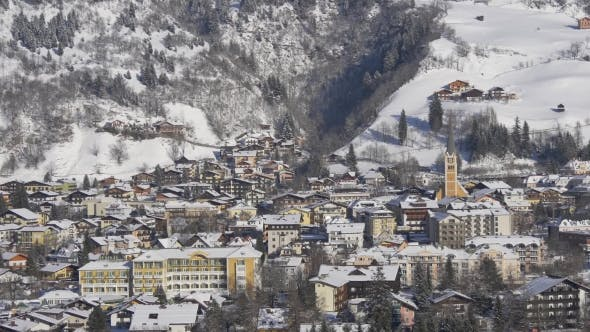 Thumbnail for Typical Austrian Town in Winter