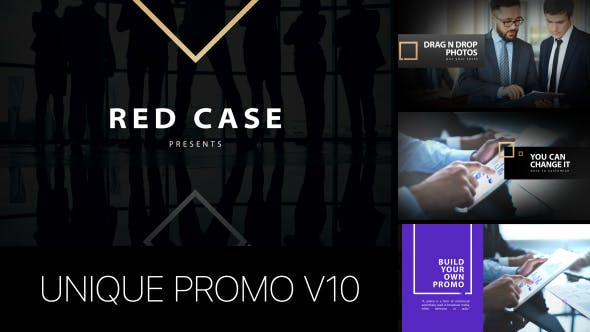 Thumbnail for Unique Promo v10 | Corporate Presentation