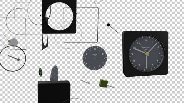 Thumbnail for Animated Clock