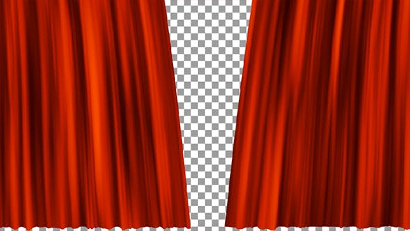 Thumbnail for Red Curtains Open