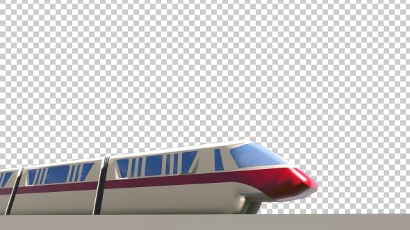 Thumbnail for High Speed Train - Transparent Alpha
