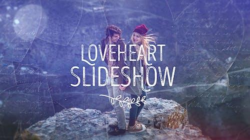 Loveheart Slideshow / Romantic Memories / Wedding Photo Album / Lovely Happy Moments