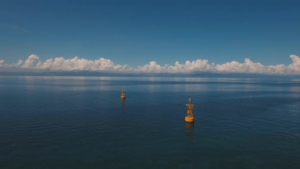 Thumbnail for Navigational Buoy in the Sea