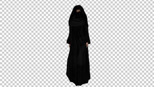 Arabic Woman With Hijab
