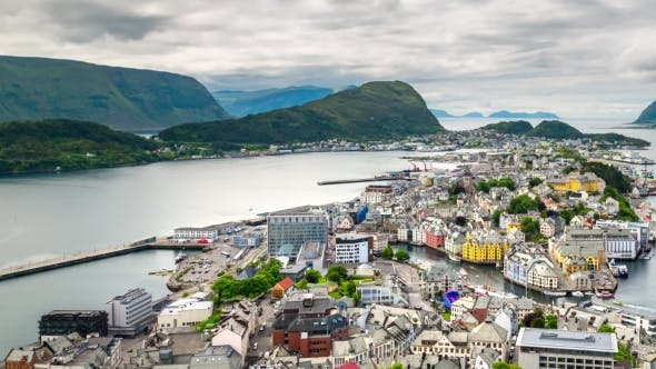 Thumbnail for Aksla at the City of Alesund, Norway