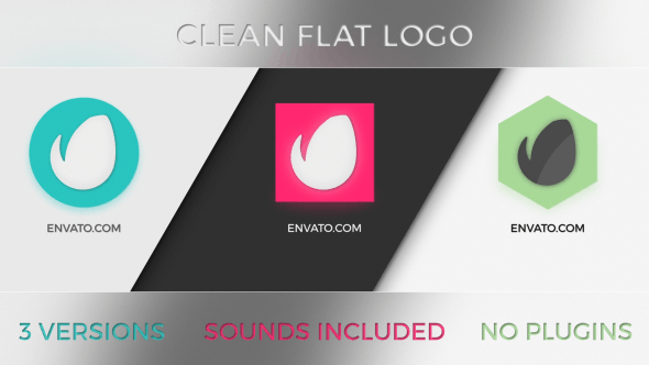 Thumbnail for Logo Clean Flat 3 en 1