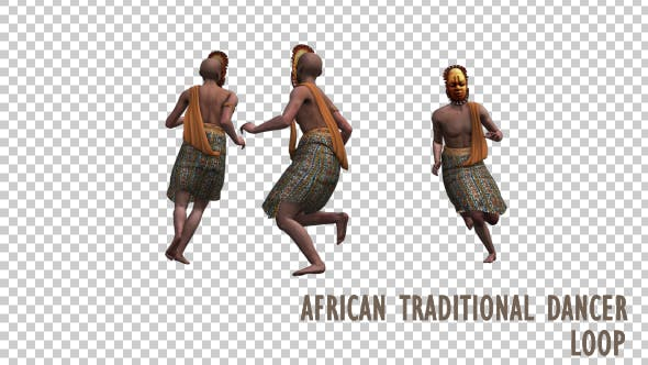 Thumbnail for African Traditional Dancer