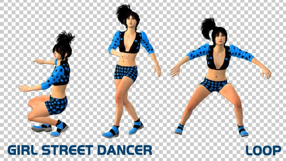 Thumbnail for Girl Street Dancer