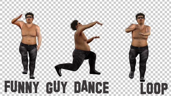 Thumbnail for Funny Guy Party Dance