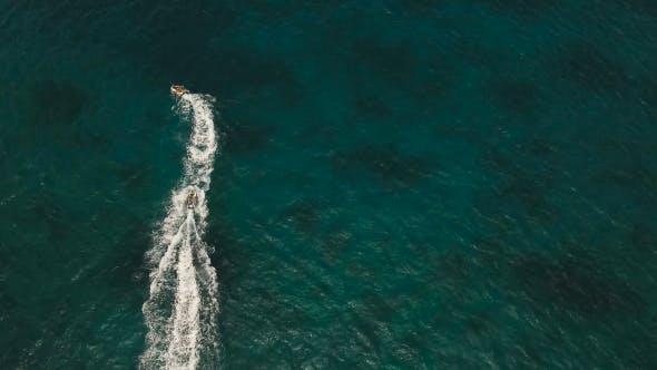Thumbnail for Riders on Jet Ski. Boracay Island Philippines.