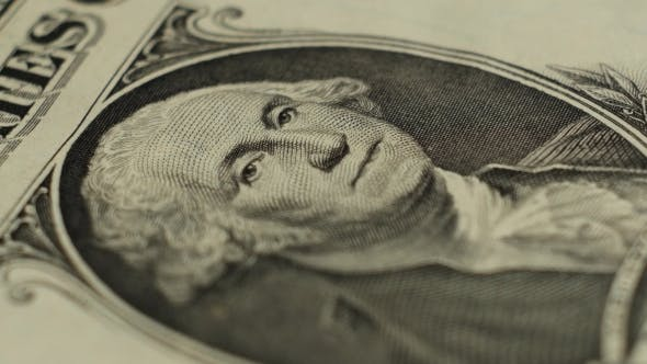 Thumbnail for One Rotating Dollar Bill. .