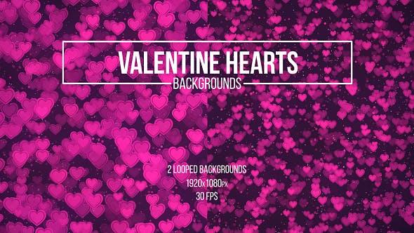 Thumbnail for Valentine Herzen Hintergründe