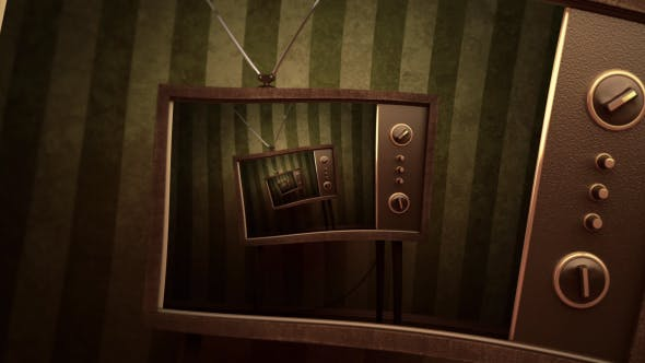Thumbnail for Retro Television Droste Background