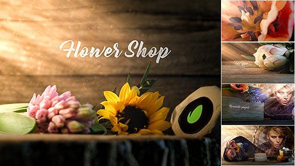 Flower Shop Promo (Wedding, Valentine's Day)