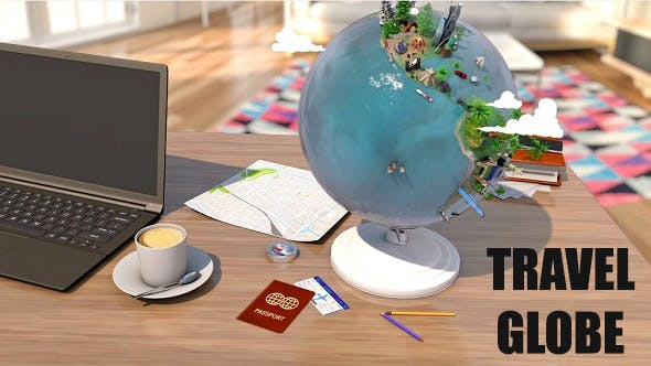 Thumbnail for Travel Globe Intro