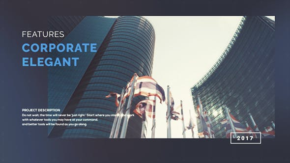 Thumbnail for Modern Corporate Slideshow