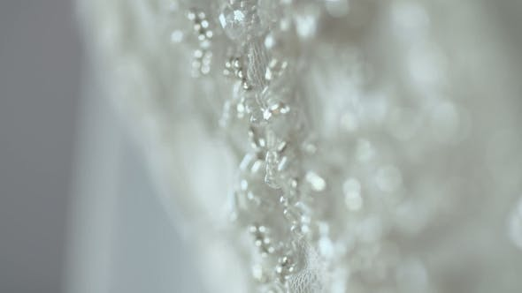 Thumbnail for Diamond Brooch at Luxury Wedding Dress