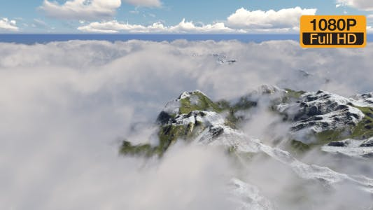 Thumbnail for Time-lapse Mountain Clouds