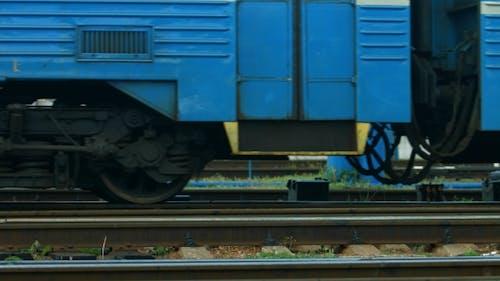 Räder des Zuges