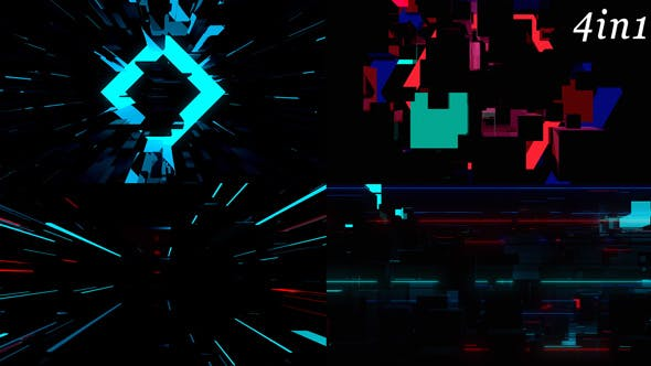 Cover Image for Repulse - VJ Loop Pack (4in1)