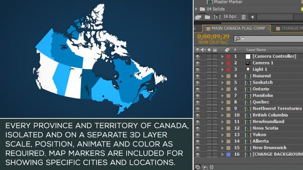 Thumbnail for Canada Map Kit
