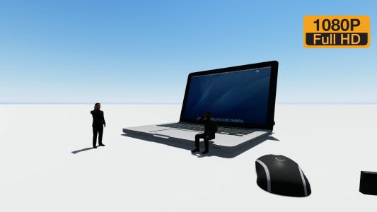 Thumbnail for Notebook and Businessman