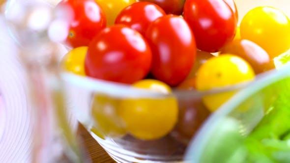 Thumbnail for Preparing Fresh Ceasar Salad