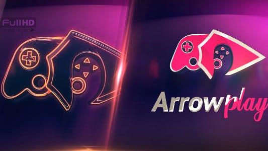 Thumbnail for Neon Logo Action