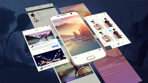 Thumbnail for Android App Presentation Template