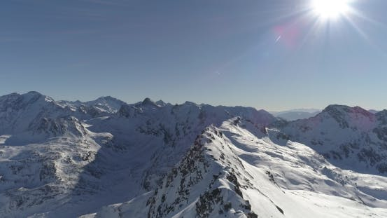 Thumbnail for Flying on Drone Along the Sharp Ridge