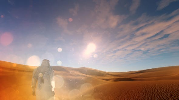 Thumbnail for Arab Man and Desert