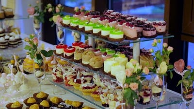 Candy Bar Wedding, Candy Buffet, Delicious Candy Bar at a Wedding