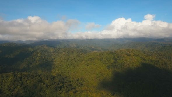 Thumbnail for Mountains with Tropical Forest. Philippines Catanduanes Island.