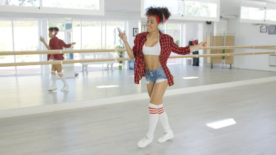 Thumbnail for Dance with Headphones Practices To Music