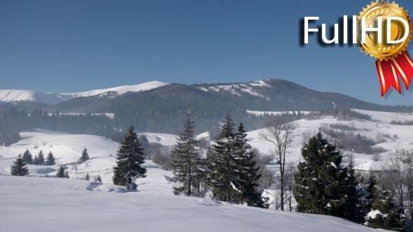 Thumbnail for View of Snow Covered Mountain Ridge