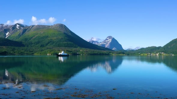 Thumbnail for Ferries' Cross. Beautiful Nature Norway