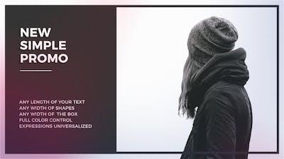 Simple Promo